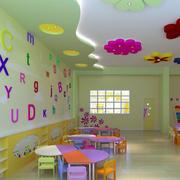 幼儿园教室花样吊顶