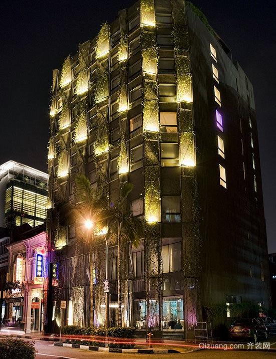 小型奢华商务酒店装修效果图