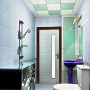 卫生间玻璃隔断展示