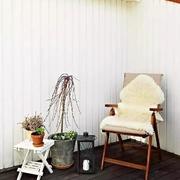 商品房休闲安静的阳台