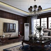 家居大气奢华的客厅