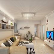 小公寓现代客厅展示