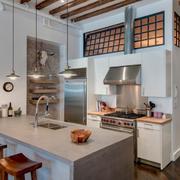 开放式小厨房橱柜