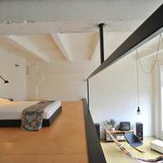 错层式住宅卧室图
