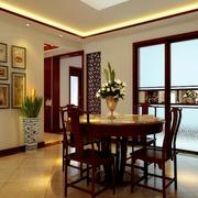 家居小型新中式餐厅图