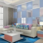 客厅创意时尚背景墙