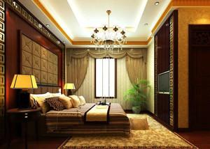 三室一厅时尚卧室软包背景墙装修效果图鉴赏
