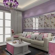 明亮温馨的客厅沙发