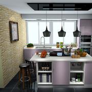 厨房吊灯展示
