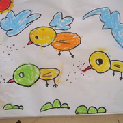 孩子们喜欢的壁画