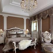 轻奢华的卧室装饰