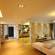 客厅个性现代化的背景墙