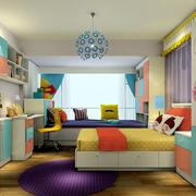 卧室彩色装饰图