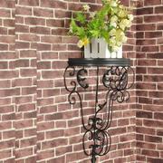简单方便的阳台花架