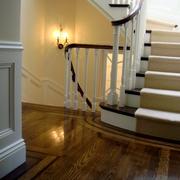 简欧风格的楼梯