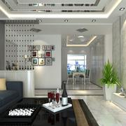 现代明亮简约客厅