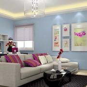 实用简约的客厅地毯