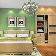 清新简约的卧室装潢