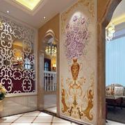 玄关魅力时尚的背景墙