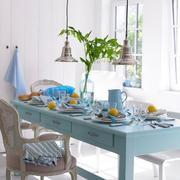 地中海餐厅餐桌椅展示