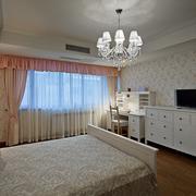 田园大户型卧室图