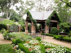 环境优雅的露台花园装修效果图