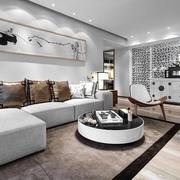 家居客厅时尚转角沙发