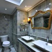 狭窄卫浴间设计
