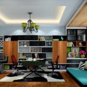 现代化的书房榻榻米