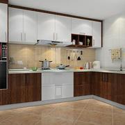 L字型厨房展示图