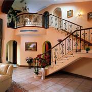 楼梯花样扶手展示