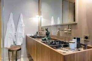 150平米都市混搭风格客厅厨卫一体化个性房屋装修效果图