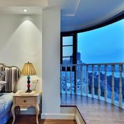 景观优美的商品房阳台
