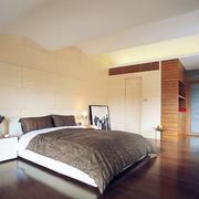 简单大气卧室背景墙