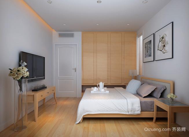 简约朴素的日式卧室装修设计图片大全