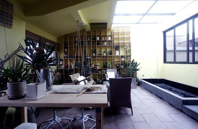 50平米 小 复式楼 阳光房装修效果图