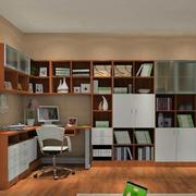书房转角书柜