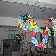 幼儿园教室吊饰欣赏