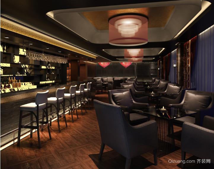 激情奢华酒吧设计装修效果图