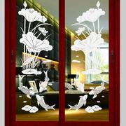 艺术玻璃推拉门欣赏