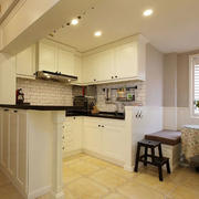 家居实用型的小厨房