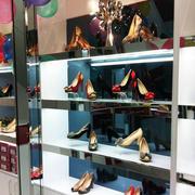 时尚女性鞋架图