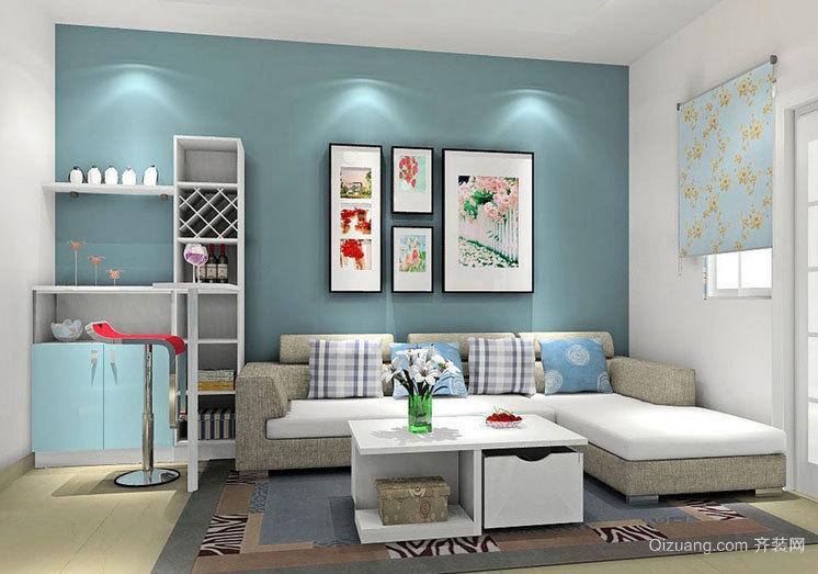 创意十足的客厅沙发背景墙装修效果图