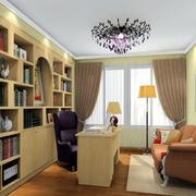 别墅人家现代书房