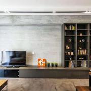 别墅客厅简约组合电视柜