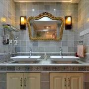 卫浴间双人洗手台欣赏