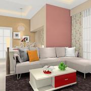 温和舒适的客厅地毯