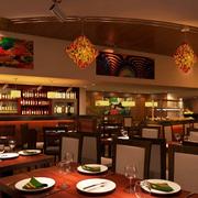 气氛舒畅的餐馆设计