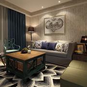 家居客厅沙发背景墙装饰画