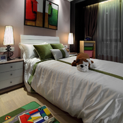 家居小卧室装饰图